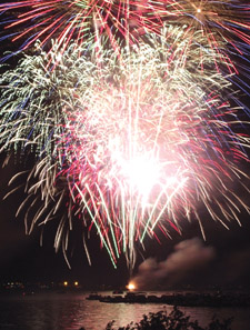 Rotary Fireworks Show for Story