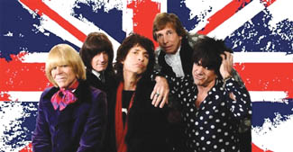 Jumping Jack Flash as Rolling Stones Triubte
