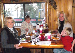 Western dining at Cowboy Express in Big Bear