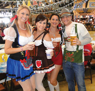 German bands and entertainment at 2014 Big Bear Oktoberfest