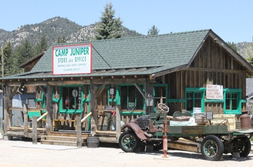 New Camp Juniper cabin at Big Bear Museum
