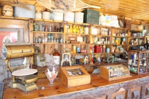 Inside Camp Juniper Cabin at Big Bear Museum