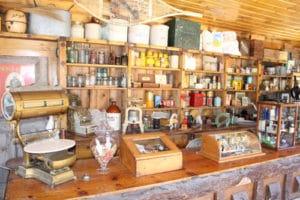 Inside Camp Juniper Cabin at Big Bear Museum