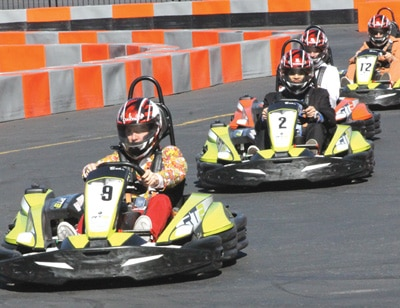 Sodi Kart racing at Big Bear Speedway