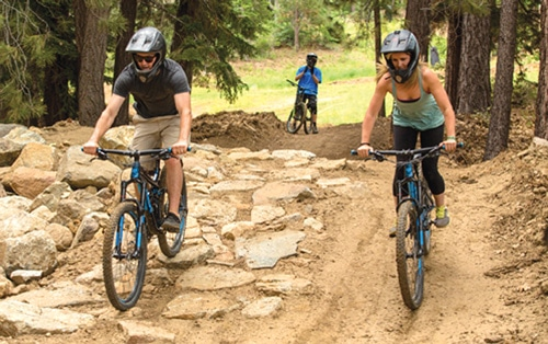 Golf Course, Bike Park Gear to Open