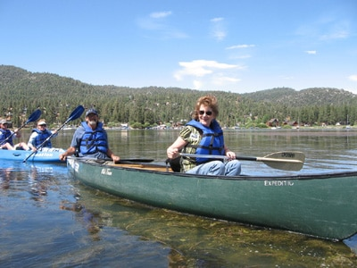 Lake tours at Big Bear Discovery Center