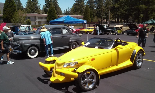 2016 Car Show at Big Bear Snow Play