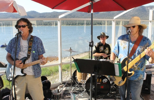 Beat the Heat at Boathouse Lakeside Tavern with Beach, Band