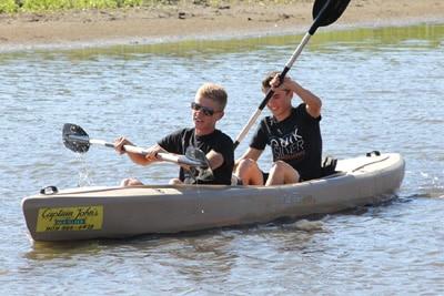 Rent canoes and kayaks at Captain John's Marina in Big Bear
