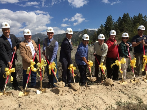 Groundbreaking for Big Bear Alpine Zoo New Home Finally Here