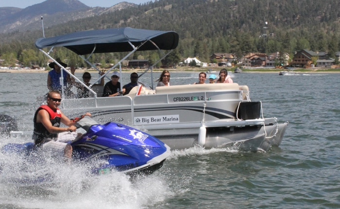 Big Bear Marina boat and waverunner rentals