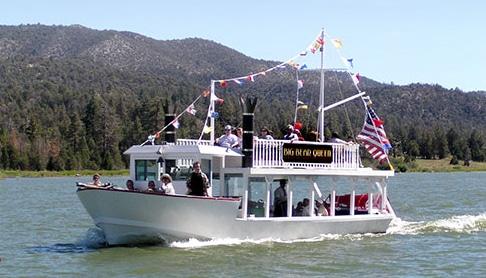 Big Bear Queen lake tours