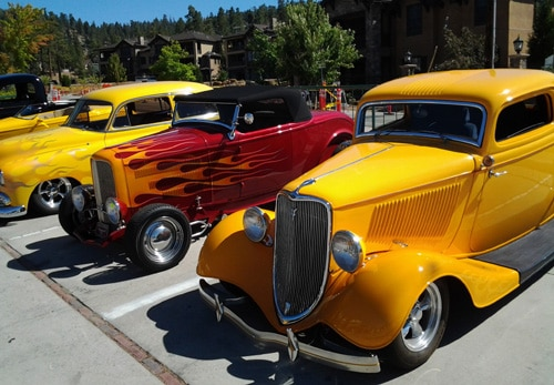Classic Cars on Display During Annual Big Bear Fun Run Show