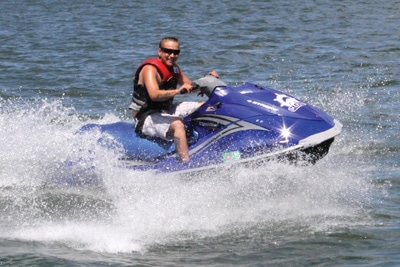 Waverunner rentals at Big Bear Marina
