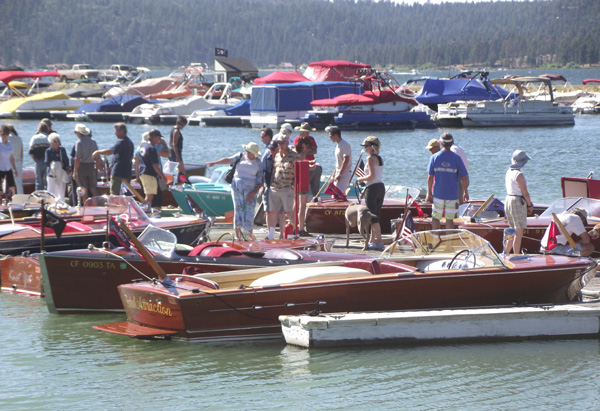 Wooden Boat Show Sees Vintage Vessels on Big Bear Lake