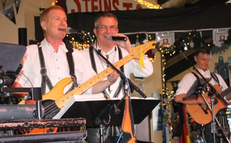 Express Band opens 46th Big Bear Oktoberfest