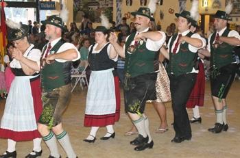 German Dance Group at Big Bear Oktoberfest