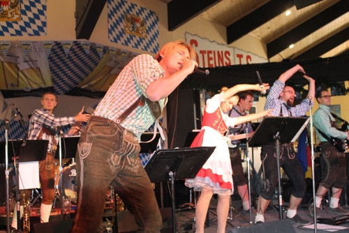 Two German Bands, The Express Open 46th Big Bear Oktoberfest in September