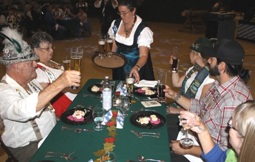 Unplugged Dinner at Big Bear Oktoberfest