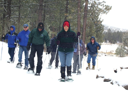 Bald Eagle Tallies, Snowshoe Treks at Big Bear Discovery Center