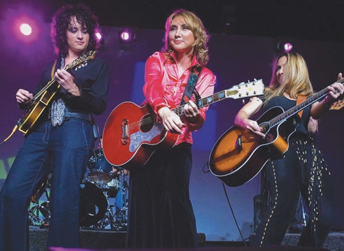 Pam Tillis Trio at Cave Big Bear