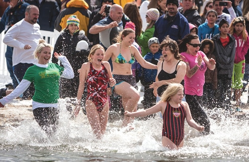 `Freezin' for a Reason' at March 4 Big Bear Polar Plunge