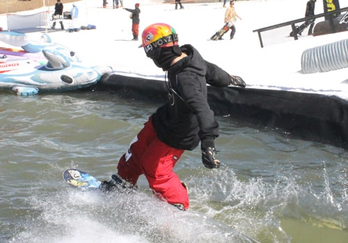 Pond Skim at Bear Mountain