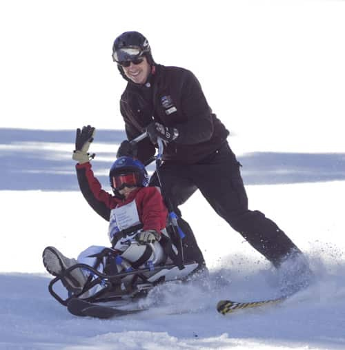 Adaptive Ski School at Bear Mountain