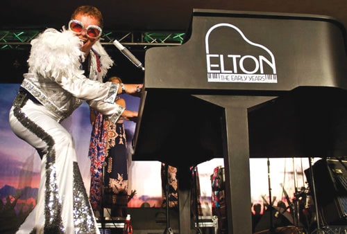 Metcalf's Elton John Tribute Opens `Music in the Mountains' at Discovery Center