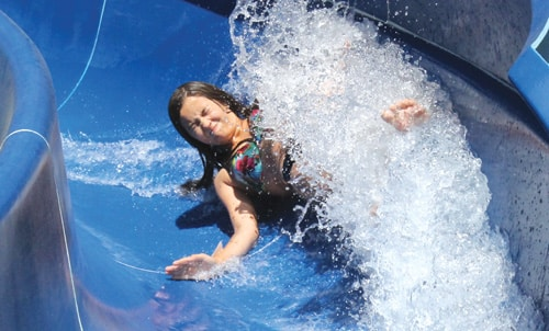 Beat the Heat in Big Bear at Alpine Slide with Bobsleds, Double Water Slide