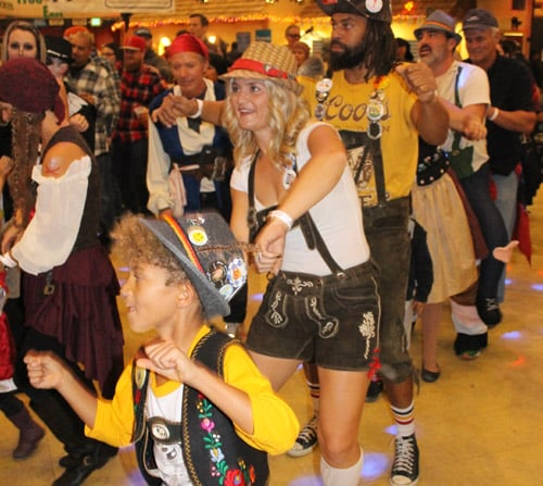First of 3 German Bands Takes Stage at 2017 Big Bear Oktoberfest