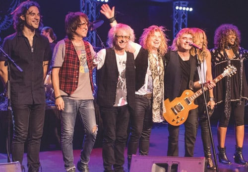 `Rocktober' at Cave Big Bear with The Babys, Tributes to Oingo Boingo, Journey