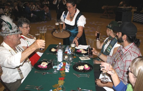 Intimate Big Bear Oktoberfest `Unplugged' with Fine Food, Spirits