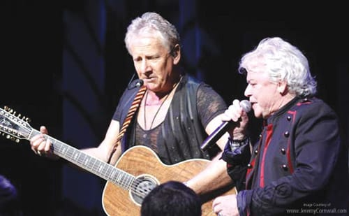 Air Supply concert in Big Bear