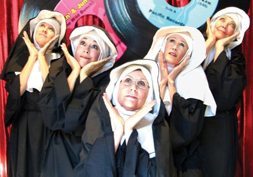 Nunsense at Community Church Big Bear