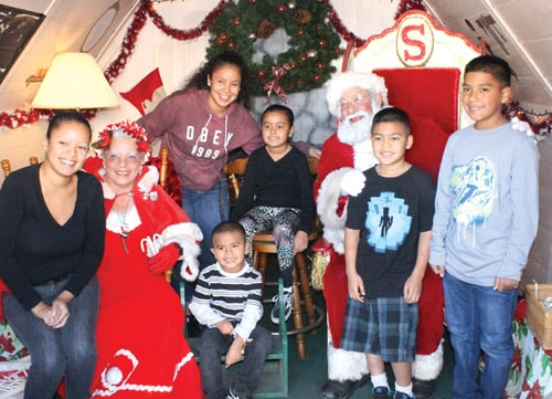 Visit Big Bear Lake Village for Santa Photos, Holiday Shopping