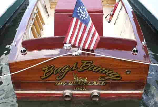 36th Annual Antique Wooden Boat Show On Big Bear Lake