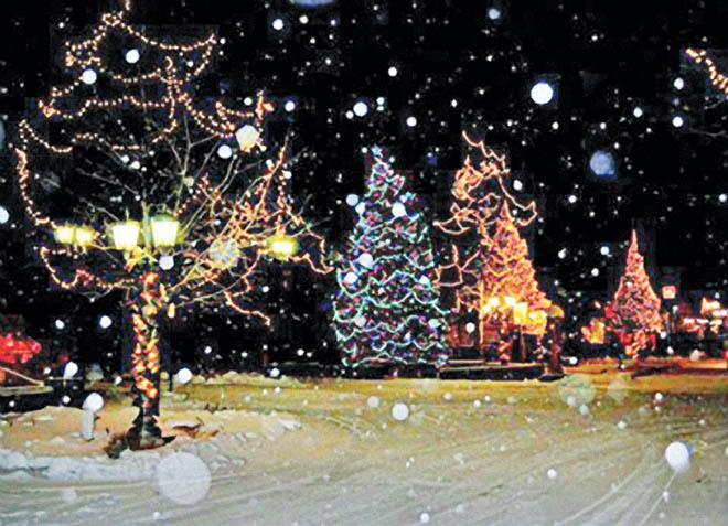 Big Bear Christmas.Shopping Season Begins At Mountain Christmas Boutique